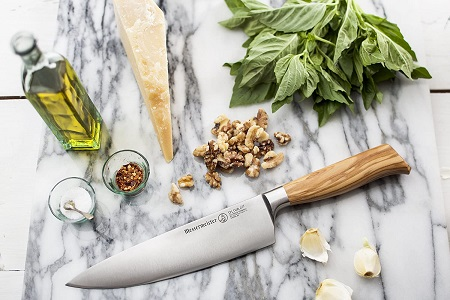 Messermeister Oliva Elite Stealth Professional Chef knife review