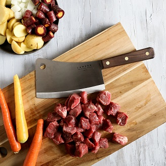 Lamson Meat Cleaver Review for chef