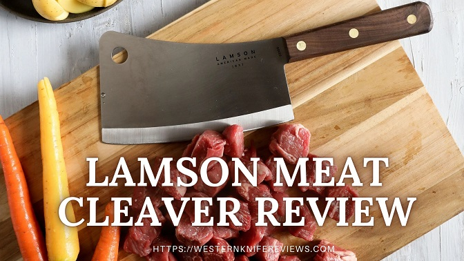 Lamson Meat Cleaver Review