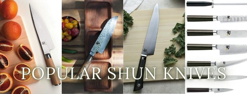 shun knives compared to wusthof and Zwilling