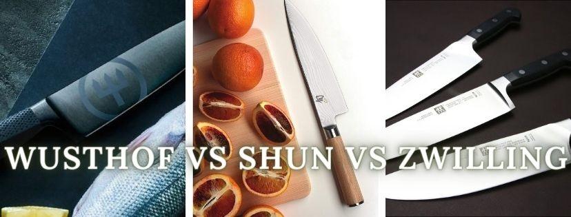 shun vs wusthof vs Zwilling