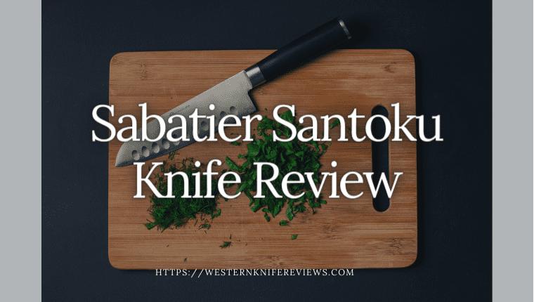 sabatier santoku knife review